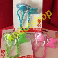 Jual Baby Pacifier Holder (Rantai jepit dot/empeng) ~ Cute Baby Murah
