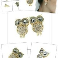 Jual EARING OWL DIAMOND - READY Murah