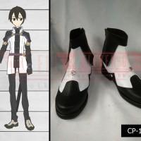 Sepatu Cosplay Sword Art Online Ordinal Scale Kirito
