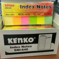 Post It Kenko SNI-640 Index Notes