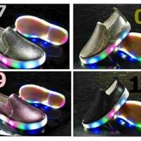 Jual LED SHOES SNEAKERS GLOSSY 21-25 | SEPATU LAMPU ANAK | SEPATU ANAK Murah