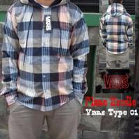 Jaket Fleece Kemeja Murah Flanel Hoodie Vans Type 01