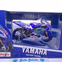 Miniatur Motor Maisto Jorge Lorenzo JL99 Yamaha Factory Racing 2016