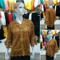 Kebaya Brokat Baju Atasan Wanita Brukat Prada Lace KL1112