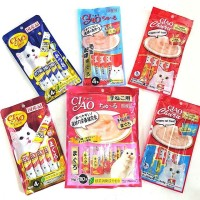 Snack Kucing / Cat Treat Ciao Creamy 4x 14 gr