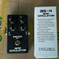 nux amplifier simulator as-4