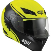 HELM AGV COMPACT COURSE MODULAR YELLOW/BLACK