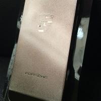 Metal Hard Case Back Cover Plastic PC Porsche Gold Black Iphone 5 5s