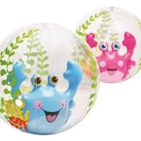 Mainan anak Bola Pantai Aquarium Beach Balls 61 cm INTEX 58031