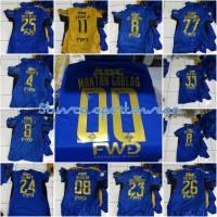 Pasang Nama Persib Bandung Official 2017 Liga Gojek Traveloka