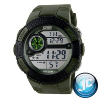 Skmei Waterproof Jam Tangan Digital 1027 Army Green