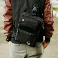TAS NOTEBOOK/ TAS PRIA/ LAPTOP/ GADGET/ SELEMPANG/ SHOULDERBAG/ GAMER