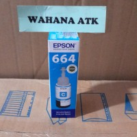 Tinta Epson 6642 Cyan utk printer epson L100 / L110 / L210 / L220