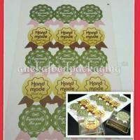 Jual Sticker packing baking kur cookies tempelan post it sticky it kue roti Murah