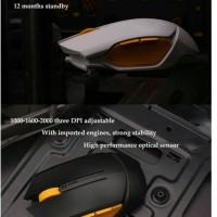 James Donkey Wifi Mouse Wireless USB 2.0 Black Garansi 1 Tahun