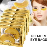 Masker Mata Crystal Collagen Gold Powder Eye Mask Bag Eyemask Naturg