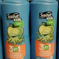 Apple Suave Kids 3 in 1 Shampo+Conditioner+Bodywash 665 ml