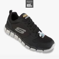 ORIGINAL Skechers Relaxed Fit Flex 2.0 Men Training Shoes 52618BKGY