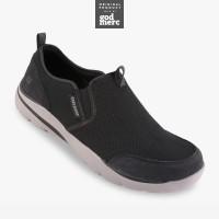 ORIGINAL Skechers Relaxed Fit Corven Horst Men Shoes 64807BLK