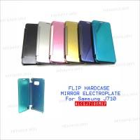 Samsung J710 Flip Case Mirror Electroplate - ALCSJ710FMEP