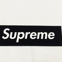 Sticker Supreme Logo Box Black