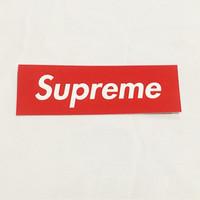 Sticker Supreme Box Logo Red
