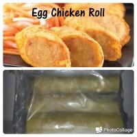 Egg Chicken Roll /Nugget Bento Ayam
