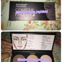 city color countour makeup palette colour make up shading murah