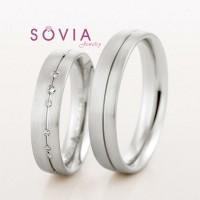 cincin palladium untuk tunangan dan pernikahan desain baru simpel