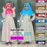 Baju Muslim Anak Perempuan Shafira Syari Kids