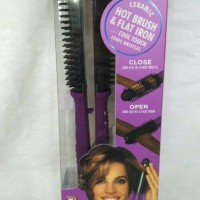 InStyler Ionic Styler Pro Ionic Hot Brush and Ceramic Flat