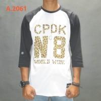 Kaos Raglan 3/4 CPDK 2061