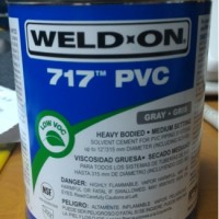 Pvc heavy bodied cement,WeldOn 717,lem weld on