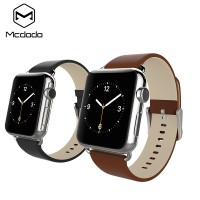 harga Mcdodo Brown Leather Strap Band For Apple Watch Series 1 & 2 42mm 38mm Tokopedia.com