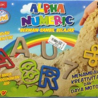 Fun Doh Magic Sand Alpha Numeric