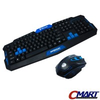 Rexus Warfaction VR2 Keyboard + Mouse Gaming Wireless Combo RX-V2