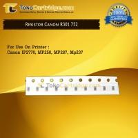 Resistor Canon R301 Error B200 / P10 752, Printer IP2270 MP258 MP287