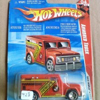 HOT WHEELS ARMORED TRUCK 728
