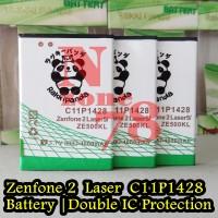 Baterai Asus Zenfone 2 Laser 5 Inch ZE500KL C11P1428 Double IC Power