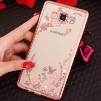 TPU FLOWER Samsung galaxy A5 A7 2015 soft case casing back cover thin