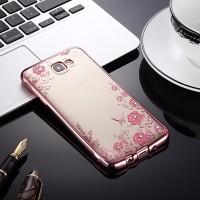TPU FLOWER Samsung J2 J5 J7 Prime On5 On7 2016 soft case casing cover
