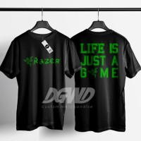 KAOS RAZER LIFE IS JUST A GAME DOTA2 POINTBLANK GAME ONLINE
