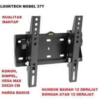 harga Breket/bracket Tv Lcd/led/plasma 17-37 Inci Looktech (ft) Tokopedia.com