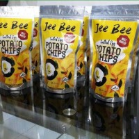 Jual Snack Jee Bee Salted Egg Potato Chip Murah