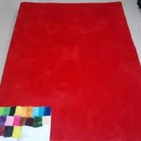 Jual Karpet Rasfur Bulu Polos Murah (Tebal Busa 6cm - Versi Premium) Murah