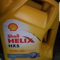 SHELL HELIX HX 5 ORIGINAL SHELL KUNING 15W - 40