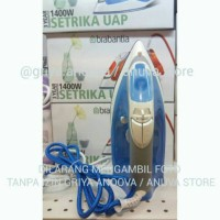 [GA878] BRABANTIA Setrika Uap / Steam Iron 1400 Watt - Biru