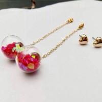 Anting Wanita Fashion Perhiasan Import Korea Koleksi Terbaru