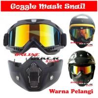 Jual Google Mask / Kacamata Goggle Mas Snail Alien Murah