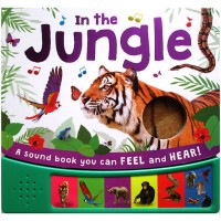 In the Jungle Sound Board Book with 6 animal sounds